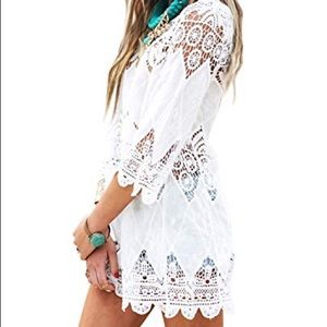 LucyLove Lace Dress/Cover Up